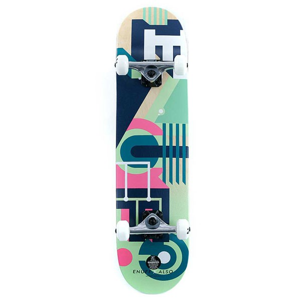 Enuff Skateboards ALSO Factory Complete Skateboard Green 7.75""