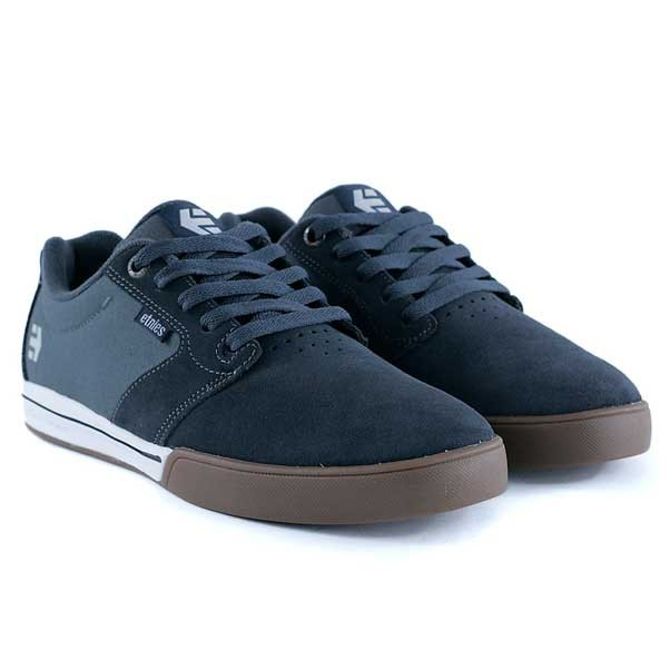 Etnies Jameson E-Lite Grey White Gum Skate Shoes