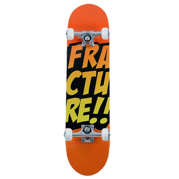 Fracture Comic Factory Complete Orange 7.5""