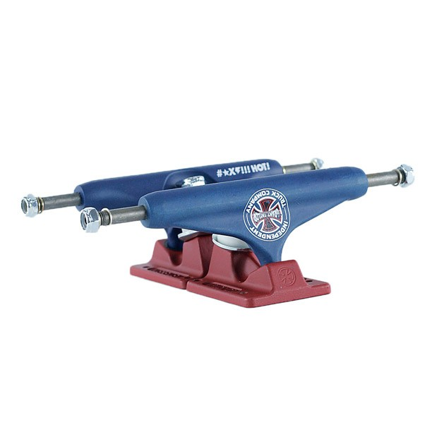 Independent Hollow Trucks Stage 11 Grant Taylor BTG GC Blue Red 139mm
