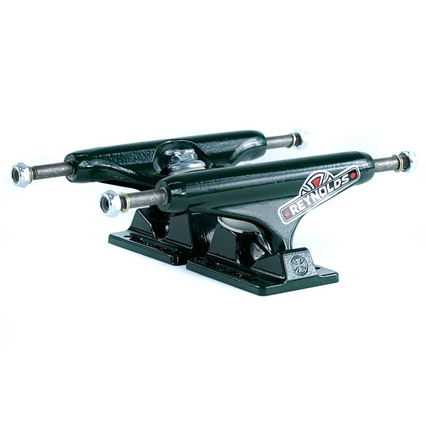 Independent Hollow Stage 11 Reynolds II GC Baker Skateboard Trucks Green 139mm
