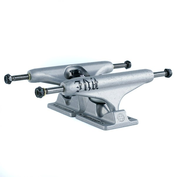 Independent Stage 11 AVE Skateboard Trucks Clear Matte Silver 139mm