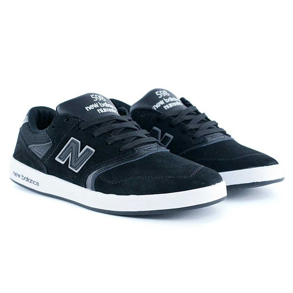 New Balance Numeric 598 Black Suede Skate Shoes