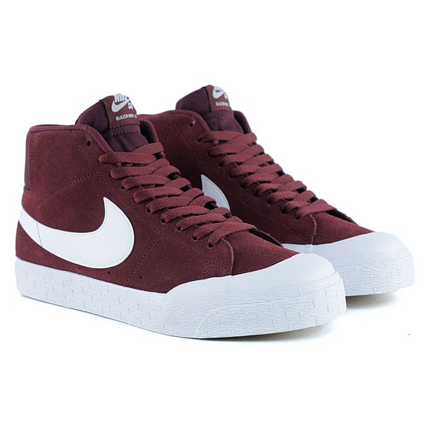 37f2d3508fbd ... usa nike sb blazer zoom mid xt dark team red white gum light brown  skate shoes