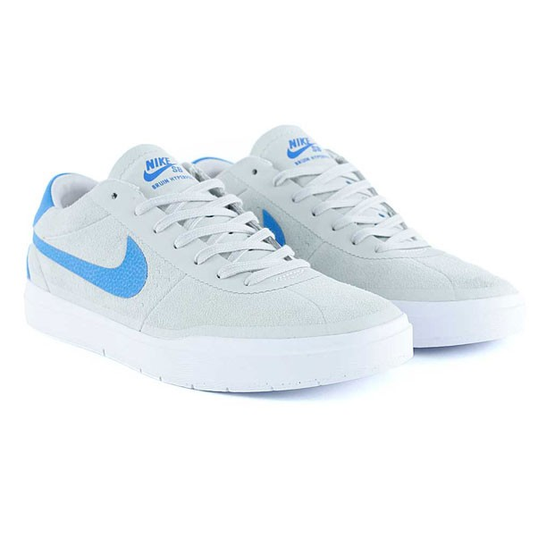 Nike Sb Bruin Hyperfeel Summit White Photo Blue White Skate Shoes