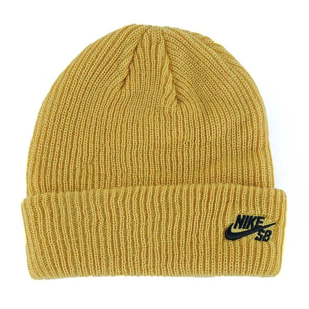 3f81d0b2fed34 ... where to buy nike sb fisherman beanie hat mineral gold black 1278f  d679f ...