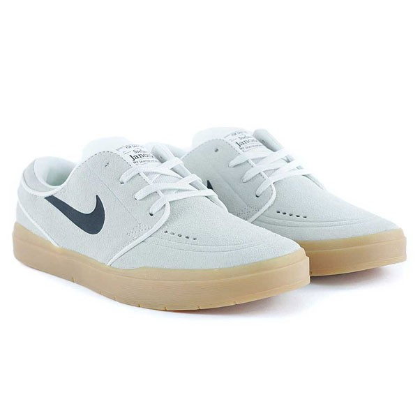 Nike Sb Janoski Hyperfeel Summit White Black Gum Skate Shoes