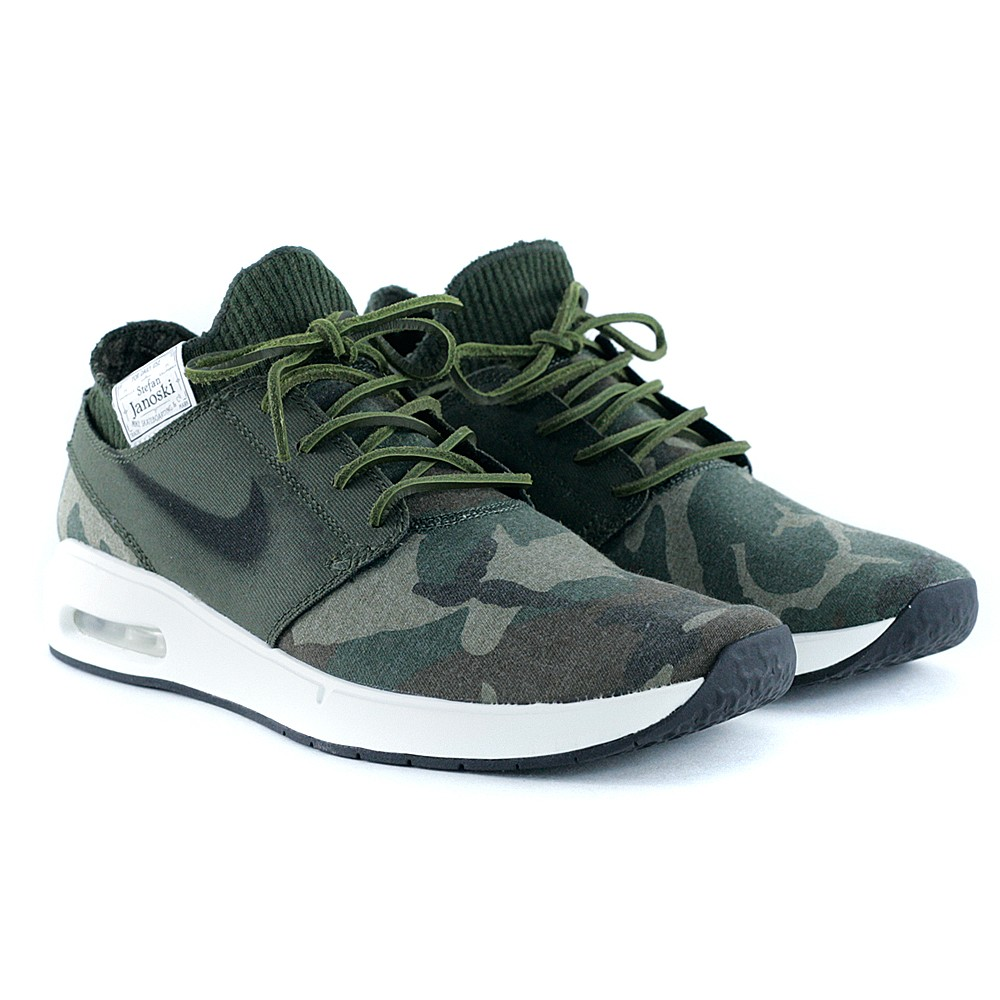 d6a6e63e88 Nike Sb Janoski Max 2.0 PRM Iguana Black Cargo Khaki Desert at Black Sheep  Skateboard Shop