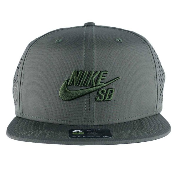 c4ed9c208fb Nike Sb Performance Trucker Hat Medium Olive Black at Black Sheep ...