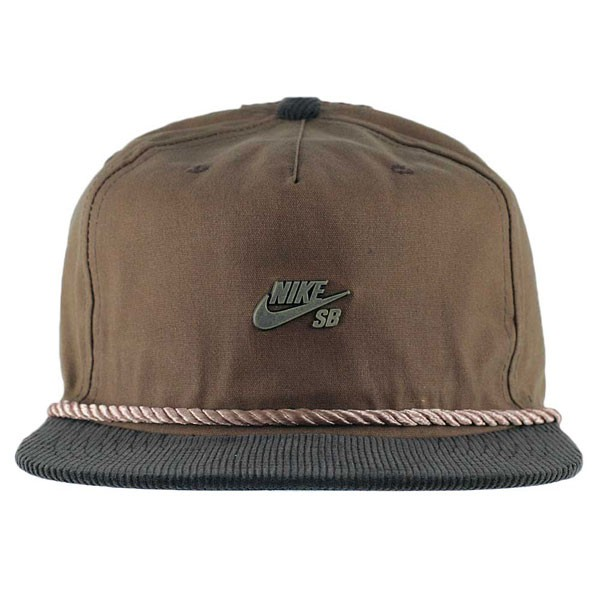 cb721ab62a65e Nike Sb Waxed Canvas Pro Cap Ale Brown Baroque Brown Anthracite at ...
