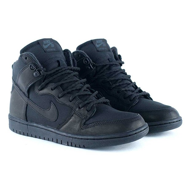 competitive price a8ee2 f7795 ... shop nike sb zoom dunk high pro bota winterized black anthracite skate  shoes 4e3a1 46af2 ...