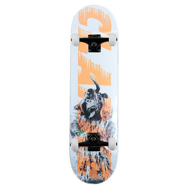 Palace Skateboards Clarke Bankhead Complete Skateboard Orange 8.25""