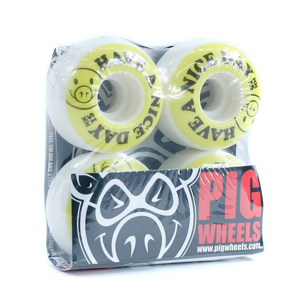 Pig Have A Nice Day Skateboard Wheels 51mm