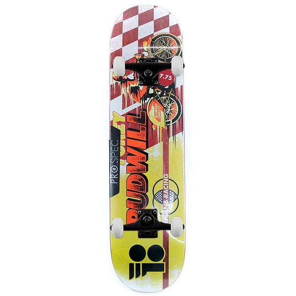 """Plan B Skateboards Torey Pudwill Victory Pro Complete Skateboard Yellow 7.75"""""""