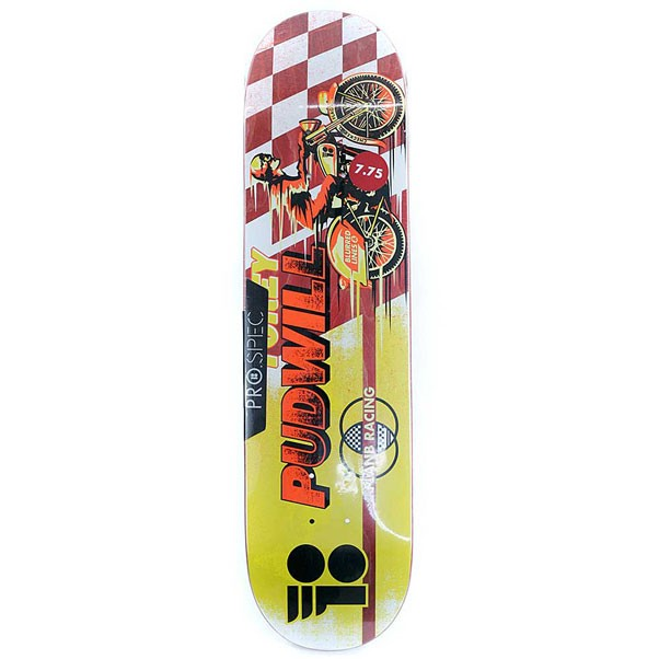 Plan B Skateboards Torey Pudwill Victory Pro Skateboard Deck Yellow 7.75""