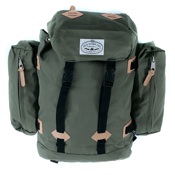 Poler Stuff Classic Rucksack Backpack Burnt Olive