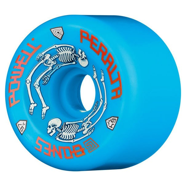 Powell Peralta G Bones #2 97A Skateboard Wheels Blue 64mm