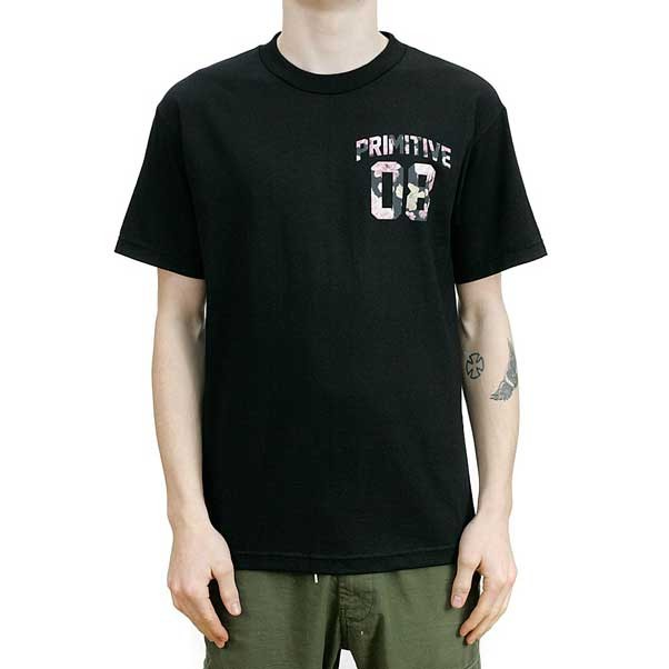 Primitive Alumini Rose T-Shirt Black