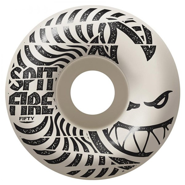 Spitfire Wheels Low Downs Skateboard Wheels White 99DU 50mm
