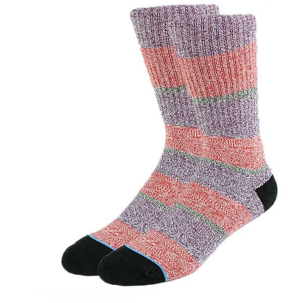 Stance Electric Socks Purple Large