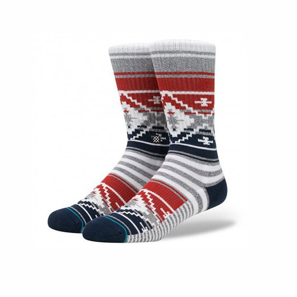 Stance Socks Sidestep Seasonal Styles Salem Socks Grey