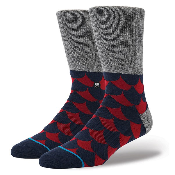 Stance Socks Sailor Grey Large- Xlarge