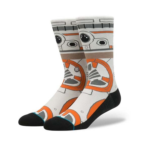 Stance x Star Wars Socks BB8 Tan Large