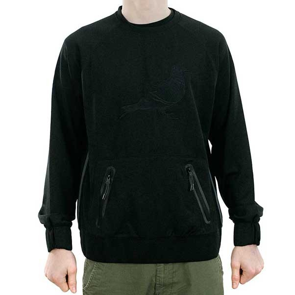 Staple Suspect Crewneck Sweatshirt Black