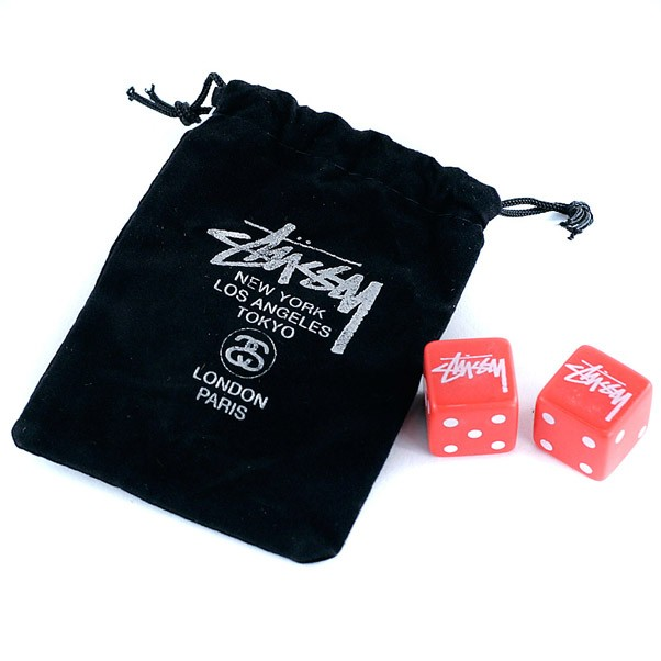 Stussy Dice Set Black