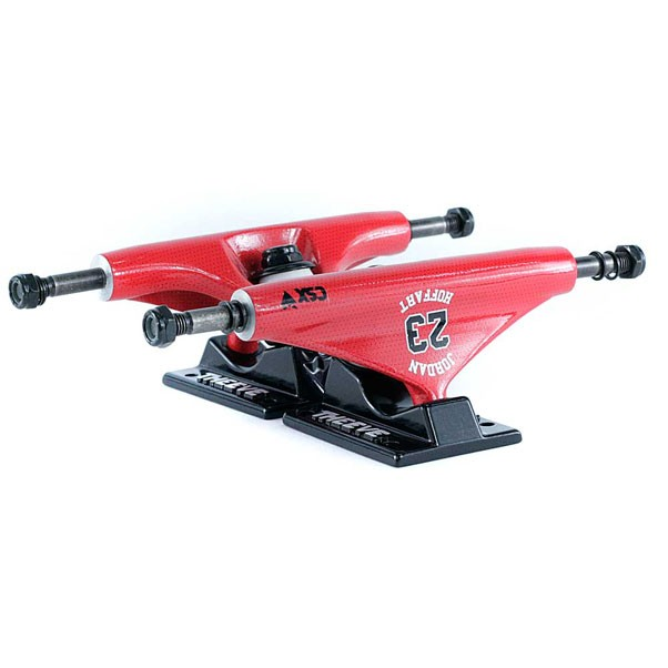 Theeve Jordan Hoffart Pro CSX Skatebord Trucks B-Ball Red Black 5.25''