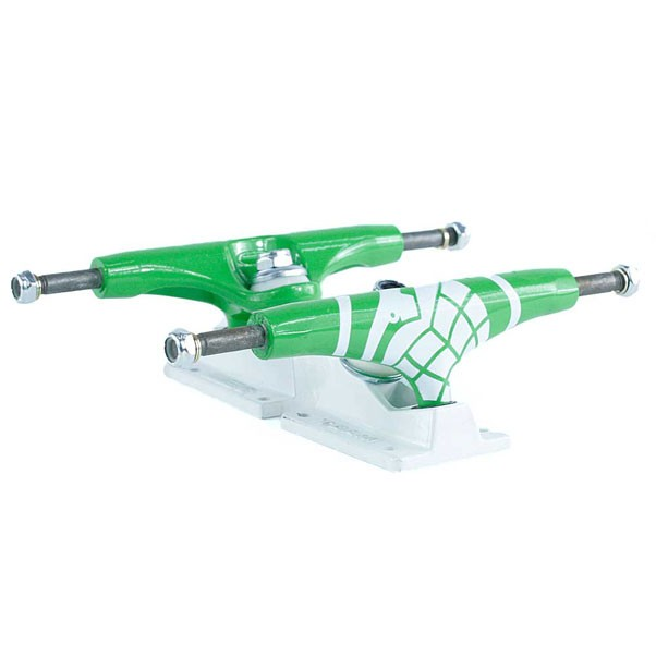Thunder Hi 147 Truck Crushers Skateboard Trucks Green White 147mm