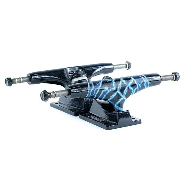 Thunder Hi Sonora Livewire Skateboard Trucks Black Blue 147mm