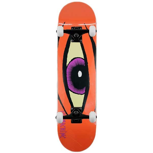 Toy Machine Skateboards Sect Eye Proper Complete Skateboard Orange 8.0""