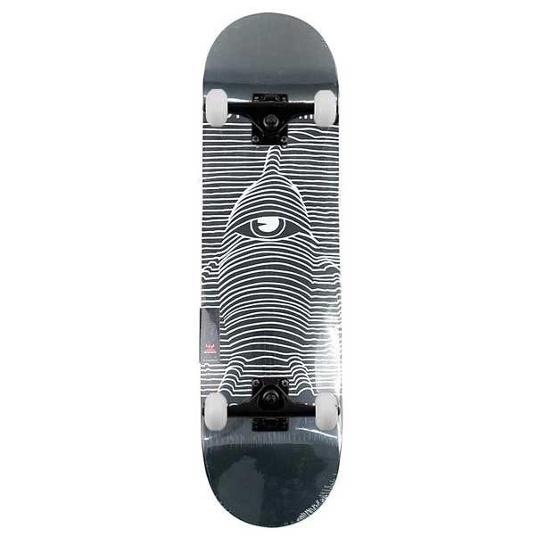 """Toy Machine Toy Division Complete Skateboard Black 8"""""""