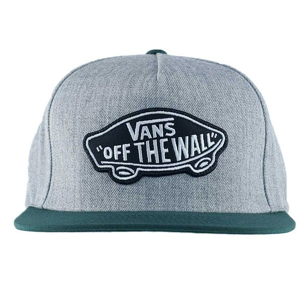 387e5f229 Vans Classic Patch Snapback Hat Heather Grey Scarab