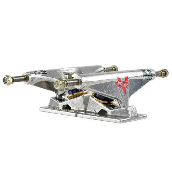 Venture High Skateboard Trucks Polished 5.8""