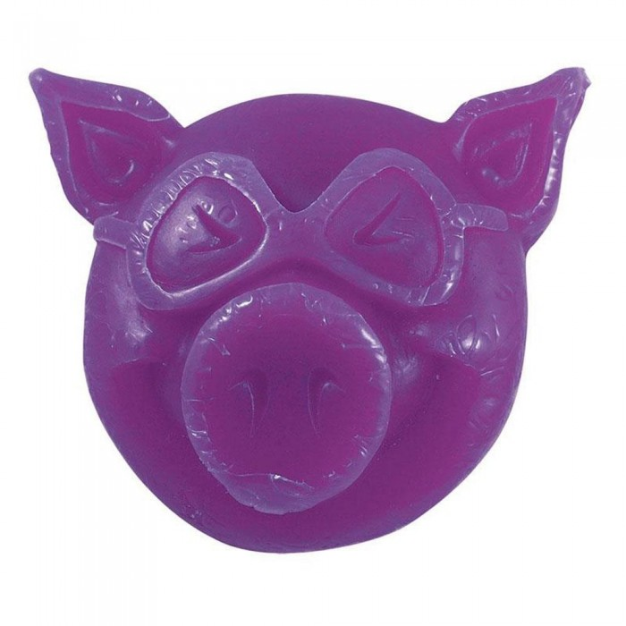 Pig Head Skateboard Wax Purple