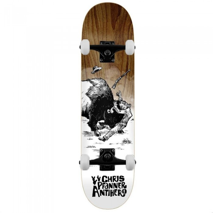 """Anti Hero Pfanner How The West Complete Skateboard Various Wood Stains 8.06"""""""