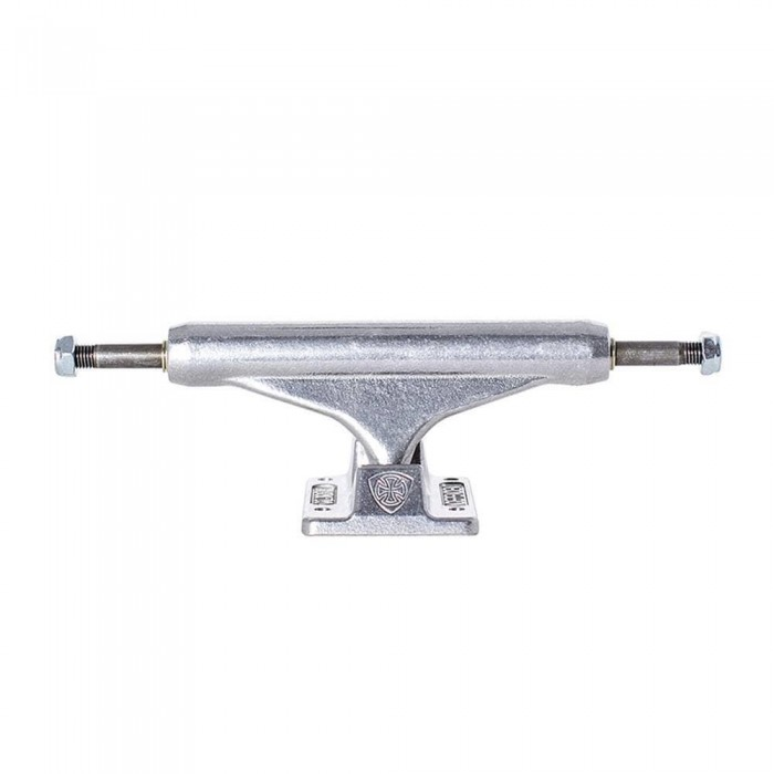 Indy Mid Skateboard Trucks Polished Silver 129 MM
