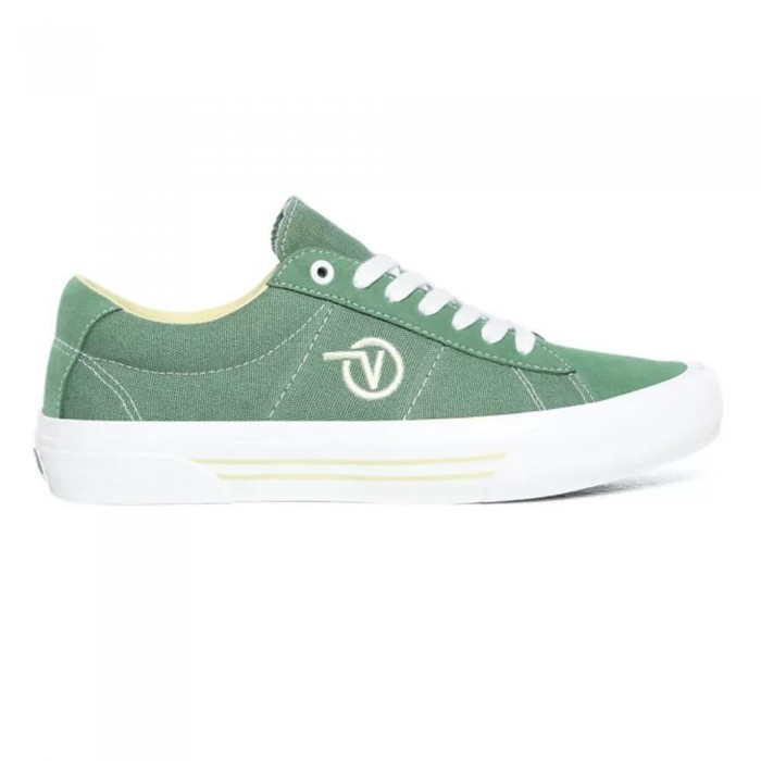 Vans Saddle Sid Pro Hedge Green Skate Shoes