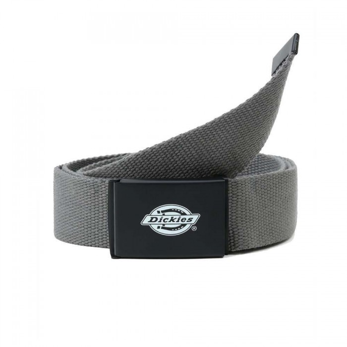 Dickies Orcutt Webbing Belt Charcoal Grey