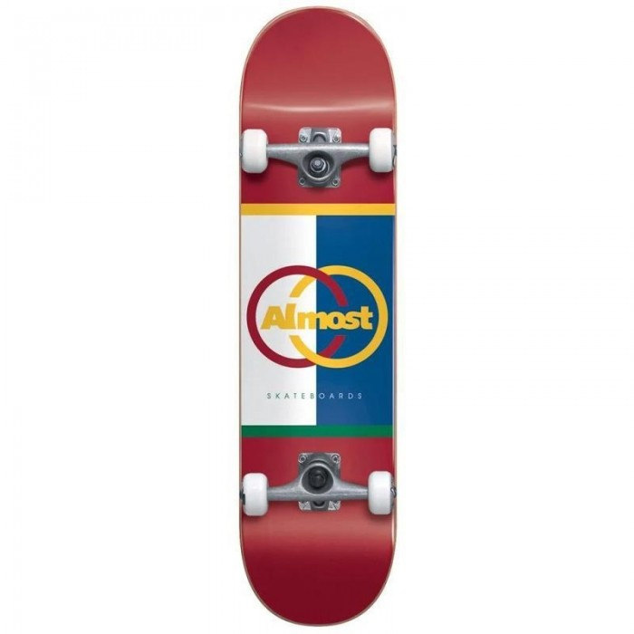 """Almost Ivy League Factory Complete Skateboard Multi 8.125"""""""