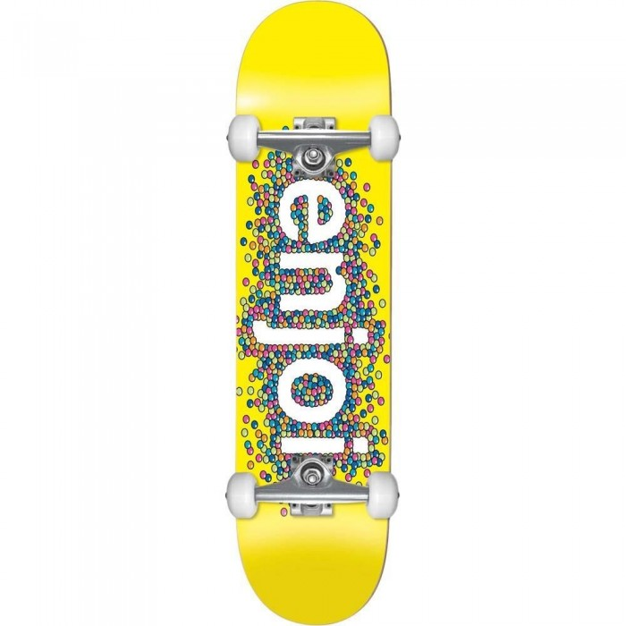 """Enjoi Candy Coated Factory Complete Skateboard Yellow 8.25"""""""