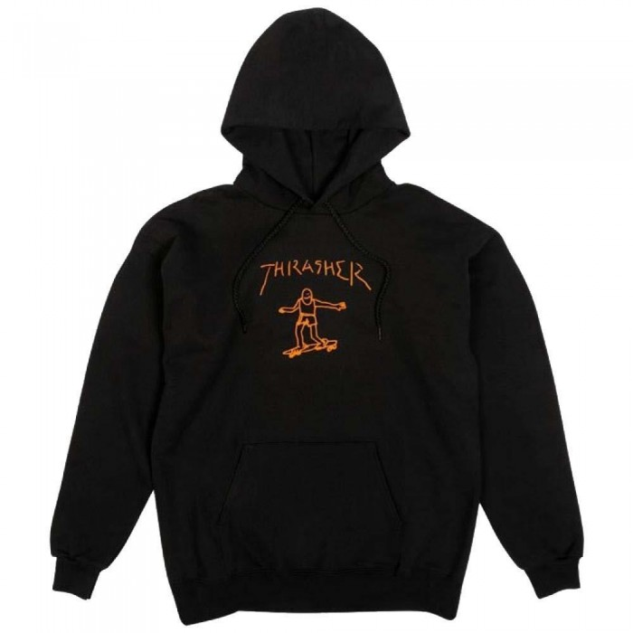 Thrasher Mag Hoody Gonz Hooded Sweatshirt Black