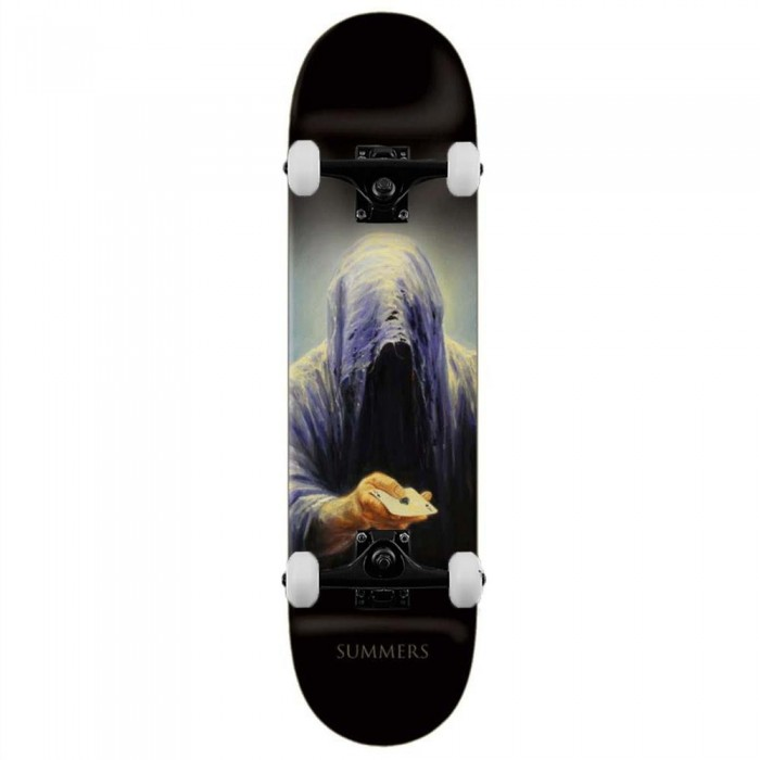 """Zero Summers Don't Be Afraid Complete Skateboard Multi 8"""""""