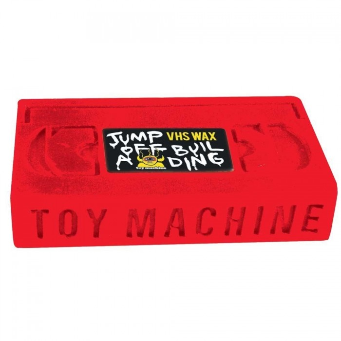 Toy Machine Skateboards Jump Off A Building Skateboard Wax