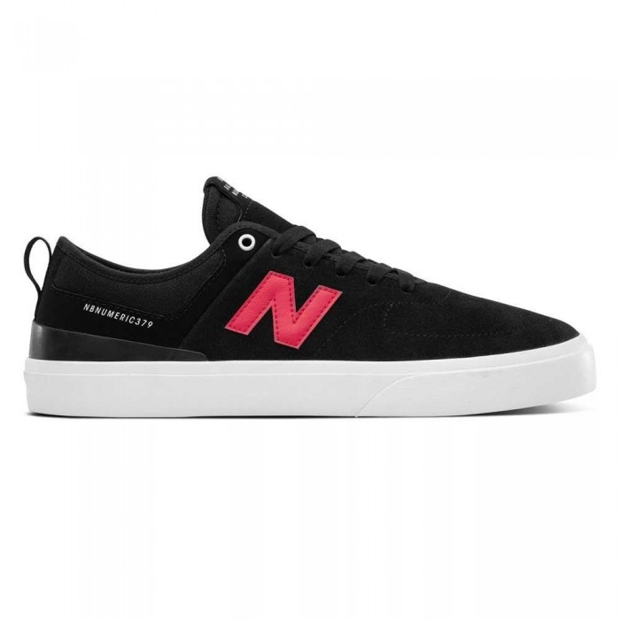 New Balance Numeric 379 Black Red Skate Shoes