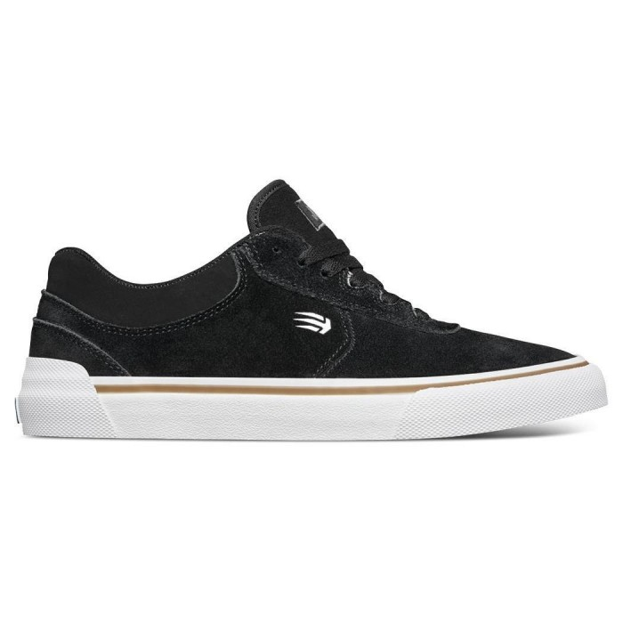 Etnies Footwear Joslin Vulc Black Skate Shoes