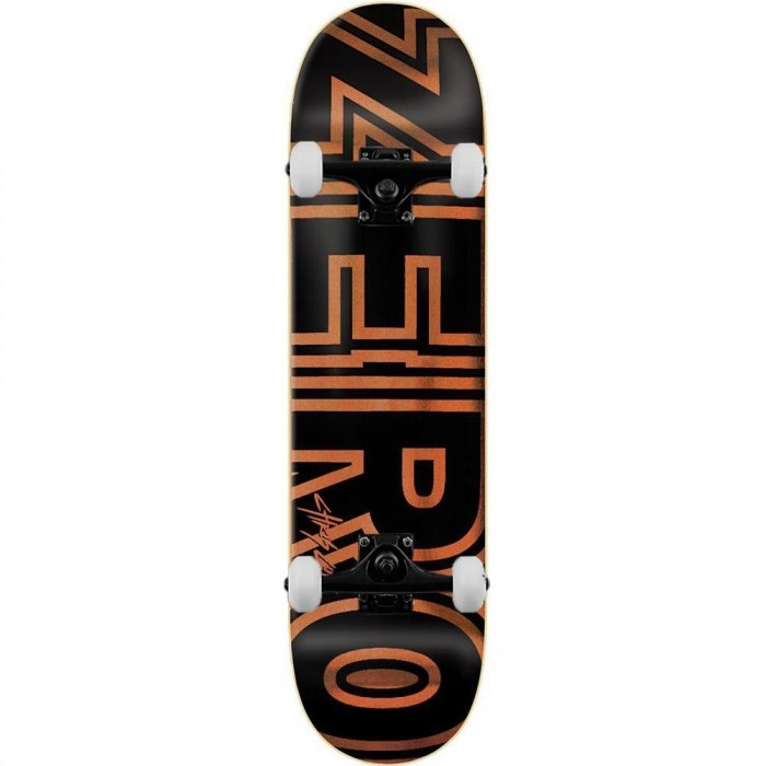 Zero Skateboards Cole Bold Complete Skateboard Black 8.25""