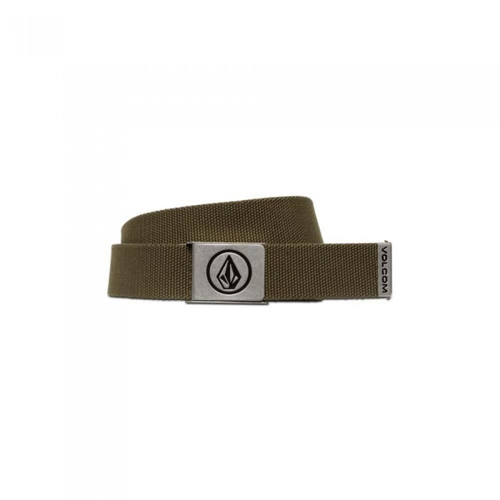 Volcom Circle Web Belt SP21 Military
